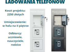 Stacja doładowania telefonów